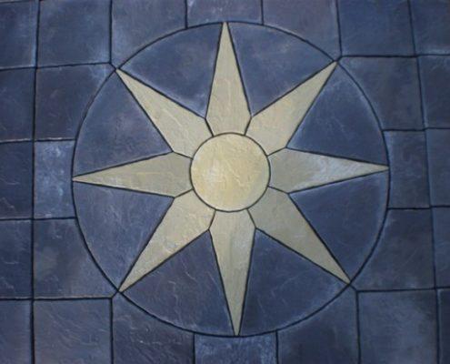 Патио зона Звезда