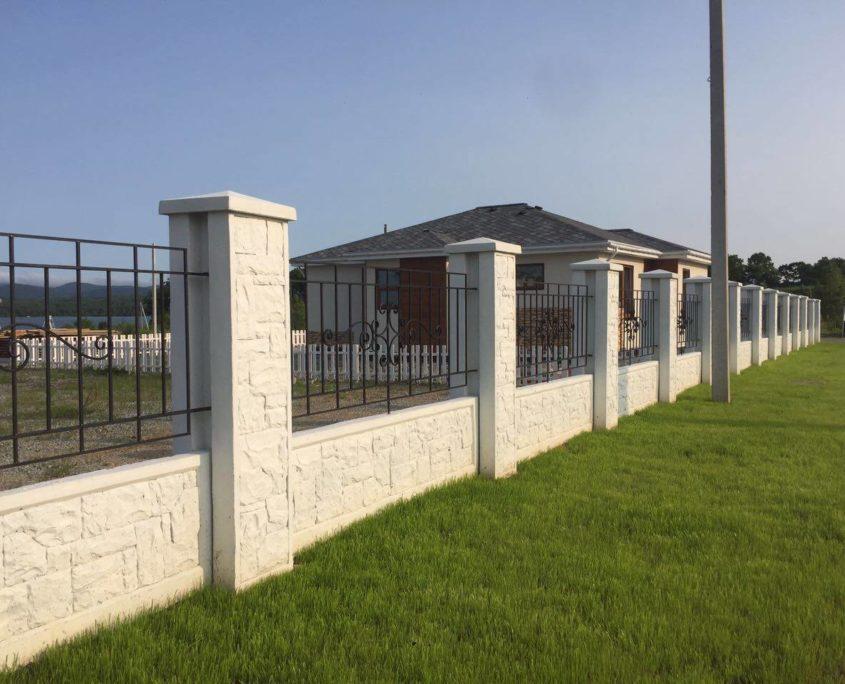 Бетонный забор Утёс