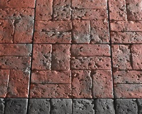 Тротуарная плитка Рустик Брик